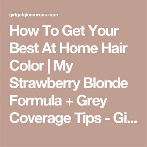 strawberry blonde hair color formula best 25 at home hair color ideas only on pinterest