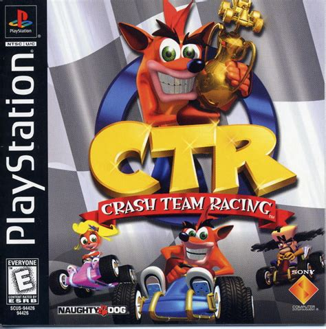 ctr crash team racing for playstation 1999 mobygames