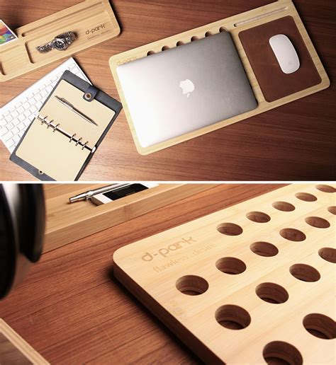 Laptop Cooling Desk Bamboo Cooling Pad Desk Lets Nature Cool Your Laptop Getdatgadget
