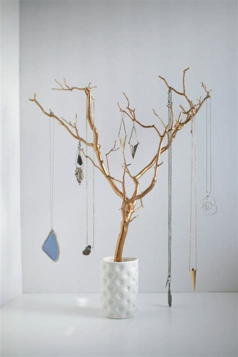 make a jewelry tree 25 best ideas about diy jewelry holder on diy
