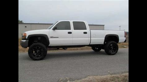 2006 gmc 2500hd diesel lifted truck for sale