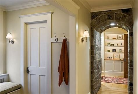hallway door ideas how to install fancy but very simple door casings and trim