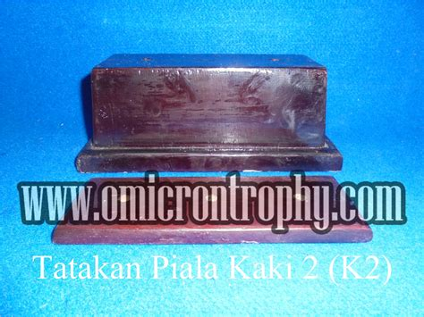 Piala Kaki 2 agen bagian trophy piala marmer murah tatakan piala kaki