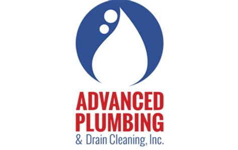 advanced plumbing logo imagination and design