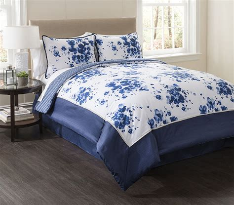 indigo comforter set mood indigo cotton bedding set home bed bath