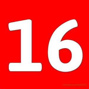 number 16 template best photos of number 16 template printable number 16