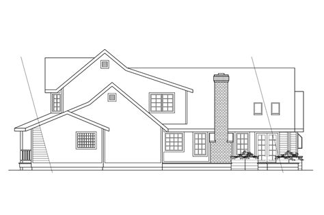house plans for rear view lots house plans rear view lot baby nursery lake front house plans lakefront lake home