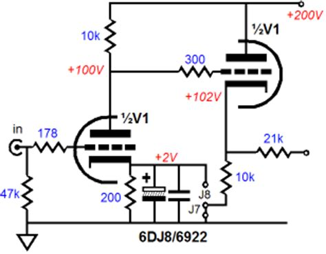 cathode bypass capacitor series resistor resistor in series with cathode bypass cap 28 images