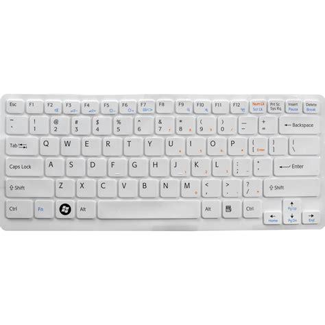 Keyboard Sony Cw Series White sony keyboard skin for sony vaio cw series notebook vgpkbv2 w