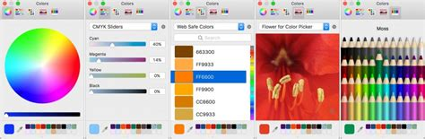 color picker mac get tips for using the mac s color picker macworks