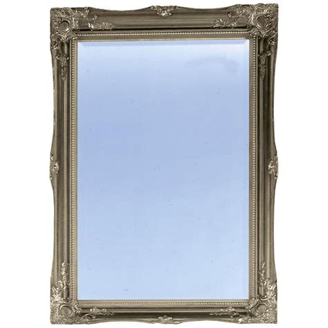 Plumb Center Balham by Heritage Balham Mirror Gilt Silver 910x660mm
