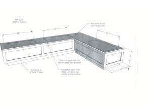 bench specs 100 standard bench height breakfast nook bench