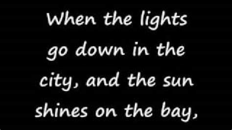when the lights go in the city lyrics journey