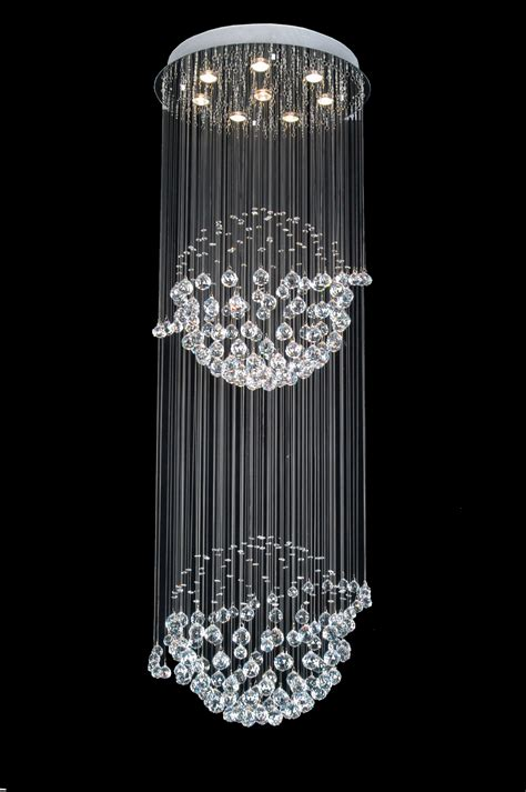 A93 809 8 Gallery Modern Contemporary Crystal Light Fixture Crystals For Light Fixtures