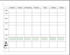 Healthy Meal Planner Template Get Fit And Feel Great With This Take A Look Http