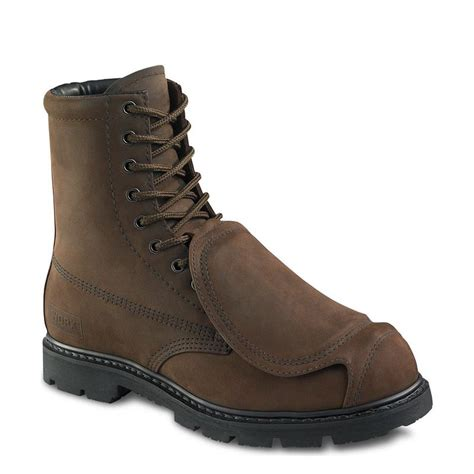 worx 5489 s 8 inch boot brown