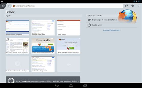 firefox for android firefox for android 25 beta 4