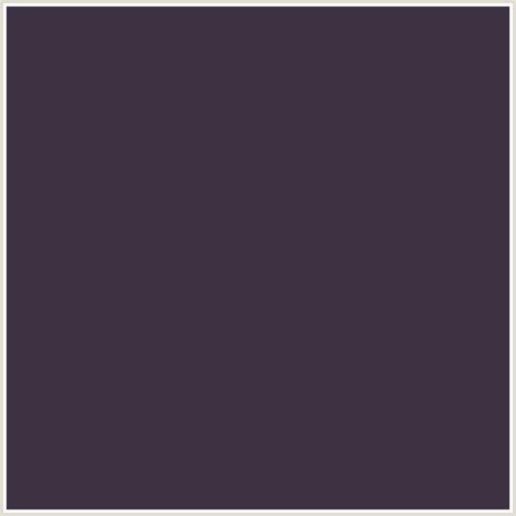 what color is it 3d3242 hex color rgb 61 50 66 blackcurrant purple