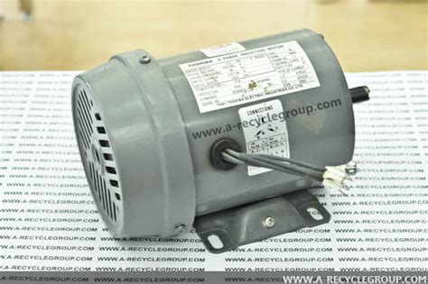 Dijamin Toshiba 3 Phase Induction Motor 3phase induction motor 1 2hp 4poles toshiba secondhand