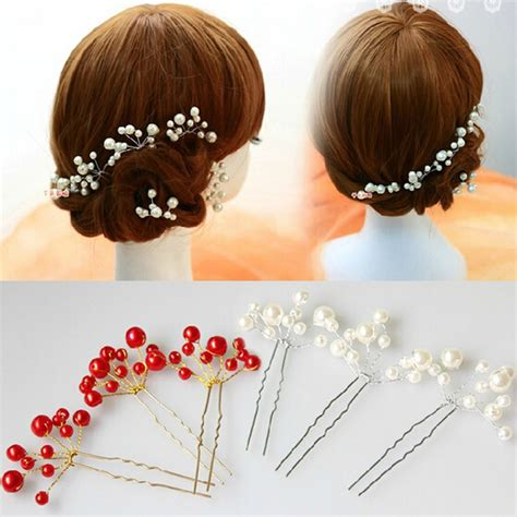 Ballerina Jepitan Rambut Anak Set wholesale hair jewelry accessory wedding bridal bridesmaid hair piercing flower hairpins