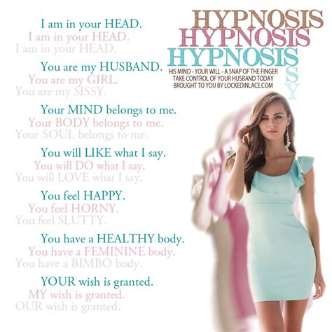 self feminization hypnosis we control the horizontal and the vertical