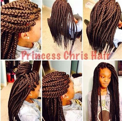 box plaits hairstyles jumbo box braids things i do pinterest box plaits