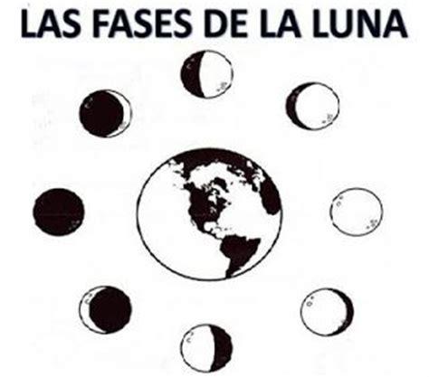 fases de la luna para ninos fases de la luna 4 jpg lapbook universo pinterest