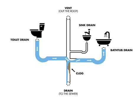 bathroom vent pipe clogged 4 signs your main sewer line is clogged
