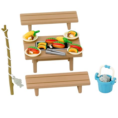 Family Set sylvanian families family barbecue set 163 7 00 hamleys for toys and