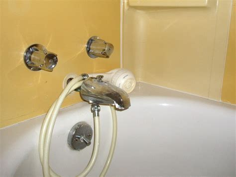 Square Tub Faucet Shower Attachment