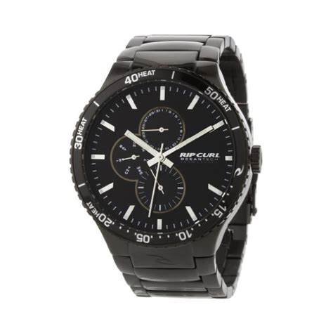 Ripcurl Black Steel rip curl s a2430 mid lincoln sss midnight ion plated