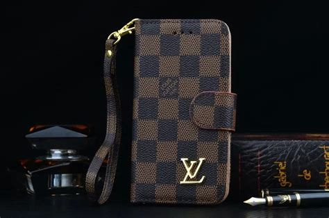 louis vuitton leather wallet case  apple iphone   phone swag