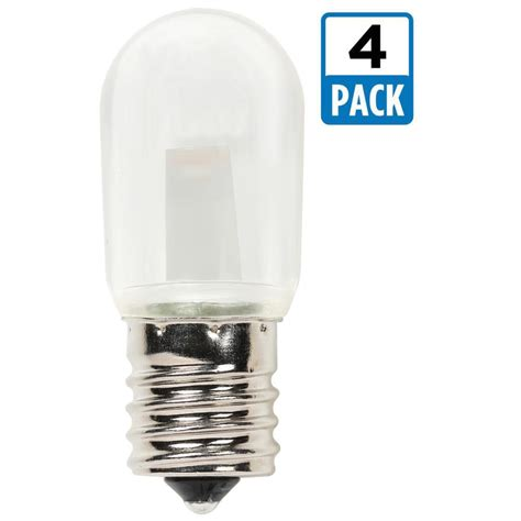 Westinghouse 15w Equivalent Clear T7 Led Light Bulb 4 Led Light Bulb Pack