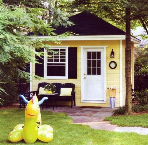 1000 Images About Backyard Office Hideaway On Pinterest Backyard Studio Plans
