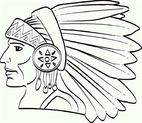 coloring page of native american indian native american coloring pages bestofcoloring com