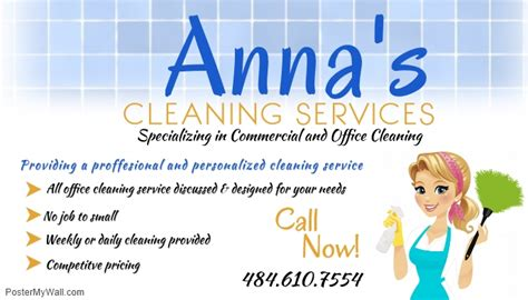 Cleaning Service Business Cards Templates Free by Cleaning Service Template Postermywall