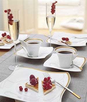 Kitchen Accessories From China Villeroy Boch New Wave Premium Table Setting