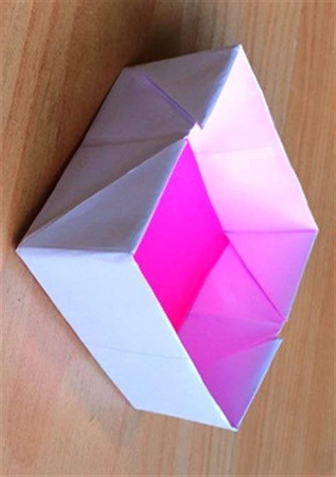How To Make A Box From A4 Paper - folding boxes nzmaths
