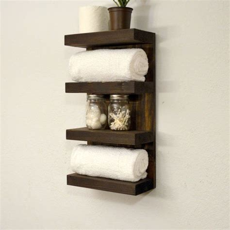 Bath Towel Shelf Rack by 17 Best Ideas About Bathroom Towel Racks On