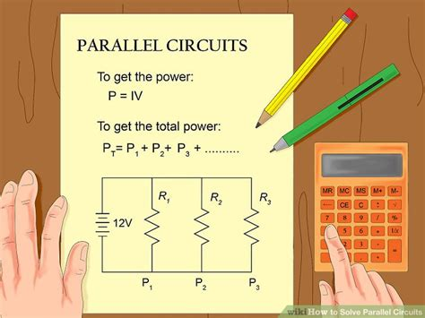 three identical resistors are connected in parallel to a battery how to solve parallel circuits 10 steps with pictures wikihow