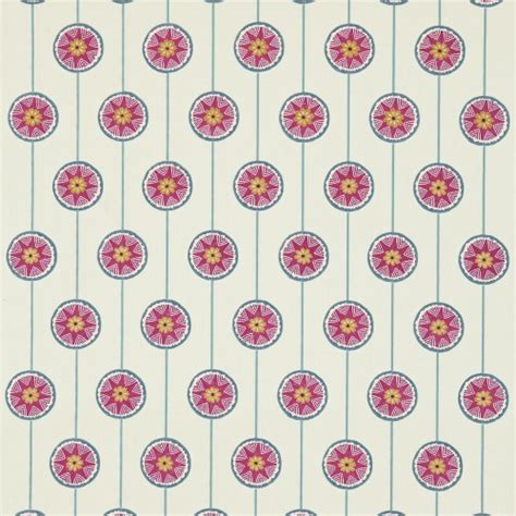 Gordyn Berry Pink gordon smith malvern ltd sanderson malmo powder blue pink fabric 234655