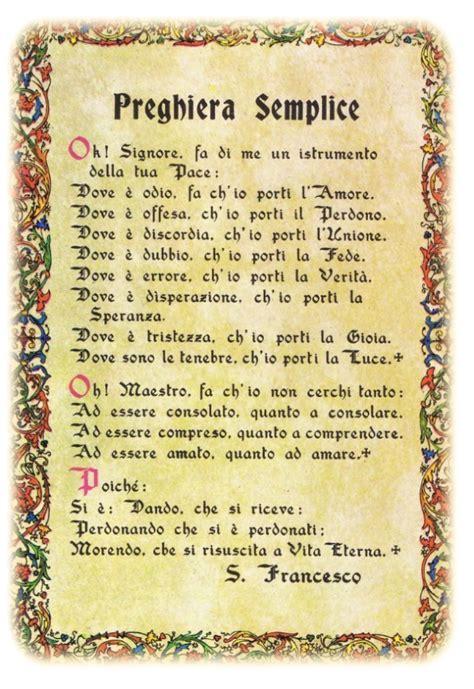 preghiera semplice testo preghiera semplice leggoerifletto