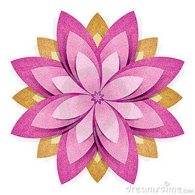 2d Origami Flower - origami flowers card flores de
