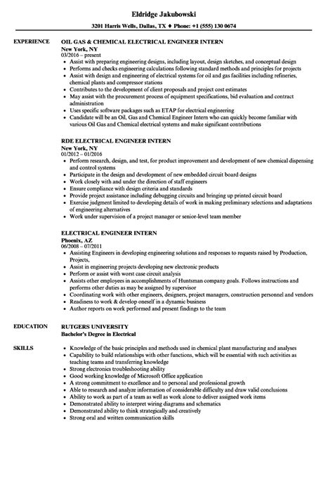 electrical engineering cv samples resume format for experienced