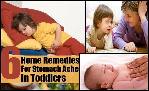 6 effective home remedies for stomach ache in toddlers