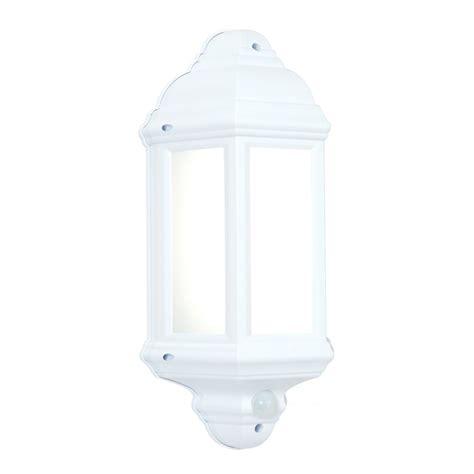 Led Pir Lights Outdoor 54554 Halbury Led Pir Outdoor Wall Light Automatic