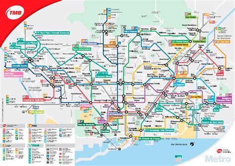 barcelona metro map metro map barcelona