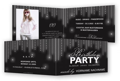 Kostenlose Vorlage Einladung Einladung Zum Geburtstag Vorlage Feinekarten