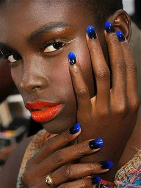nail polish trends for older gals gallery for summer nail polish colors for dark skin blue