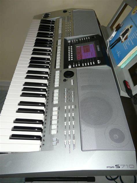 Keyboard Yamaha Psr S710 Bekas yamaha psr s710 image 410272 audiofanzine